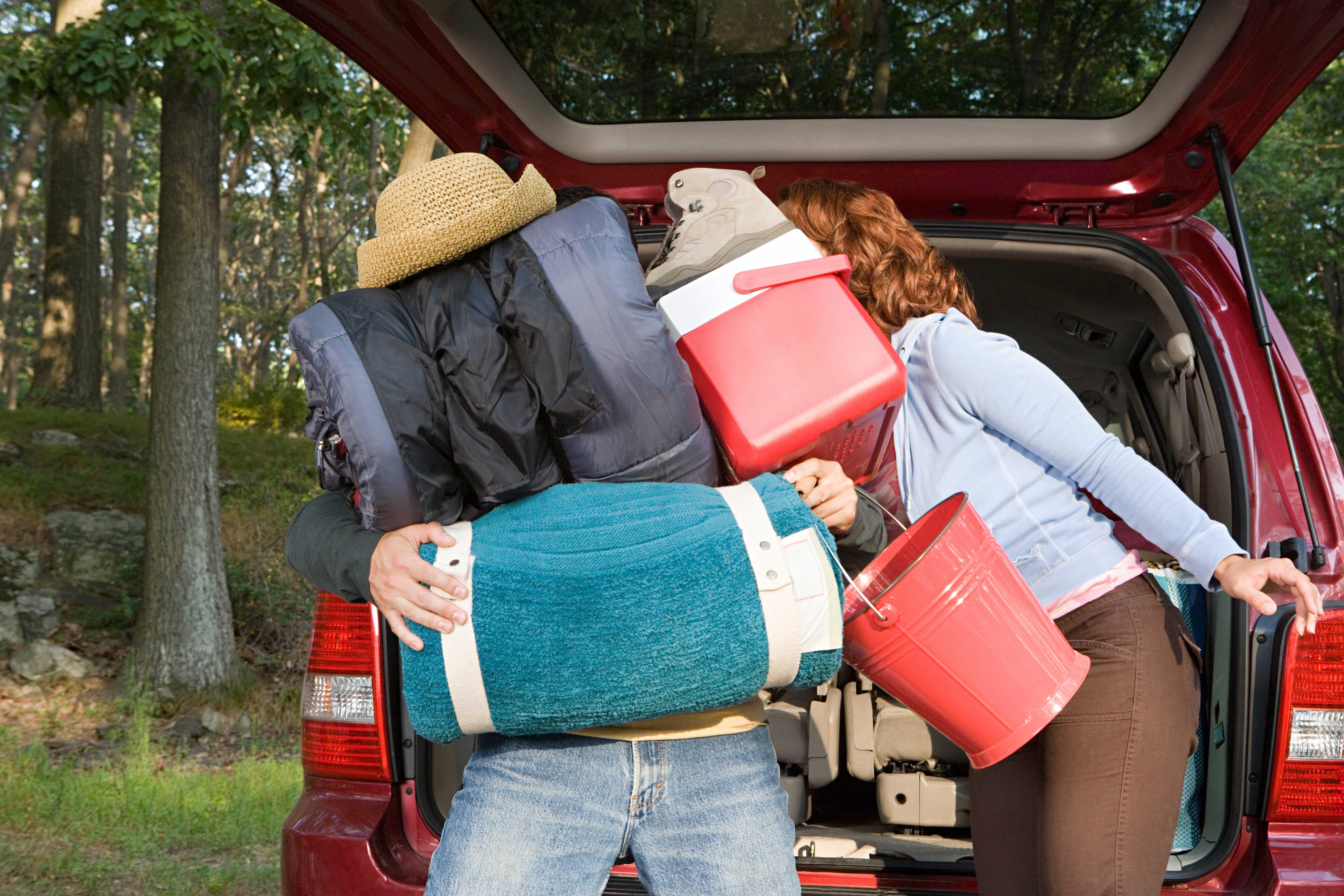 camping mit dem auto