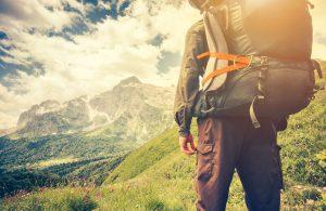 Wandern mit Ruckasck