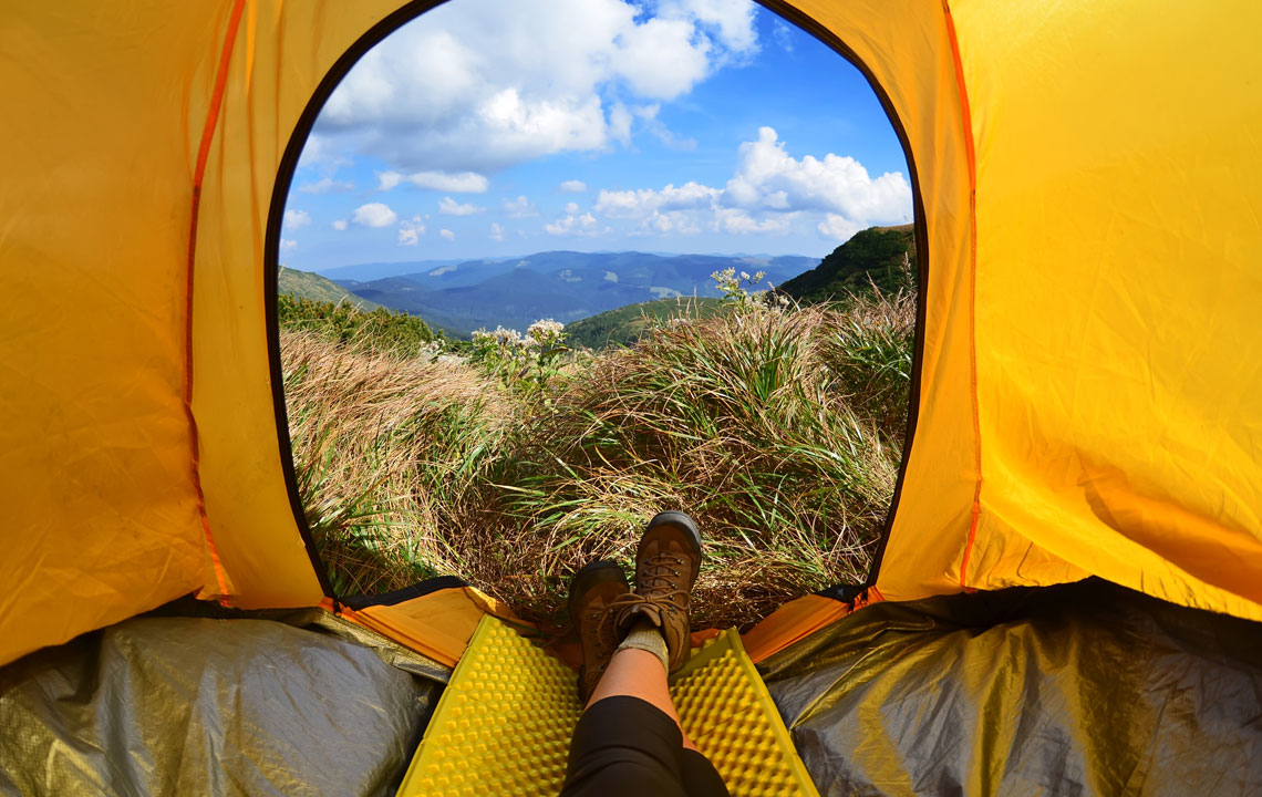 Packliste Wandern mit dem Zelt