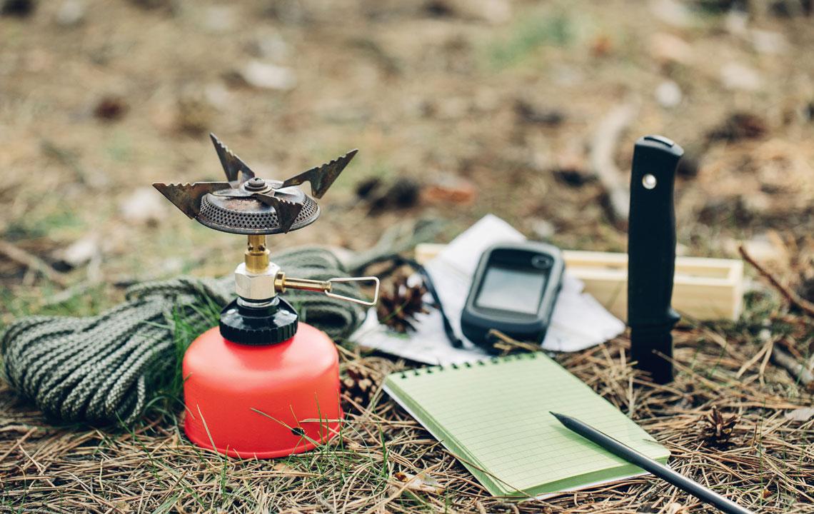 Camping Ausrüstung Packliste