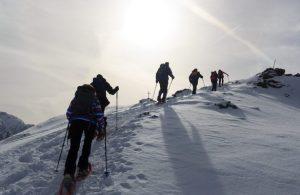 Wandern im Schnee ©Johannes86/Getty Images International