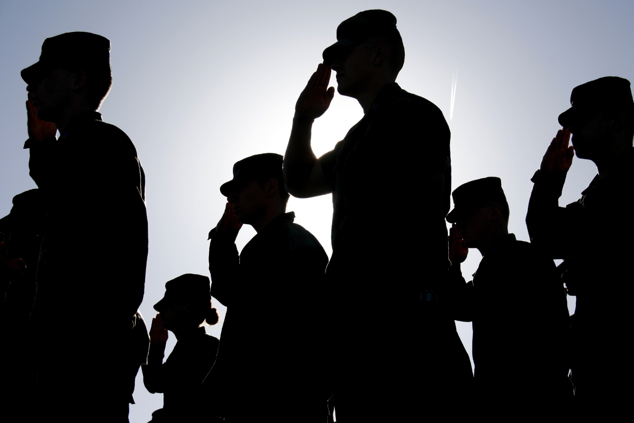 Soldaten Salutieren