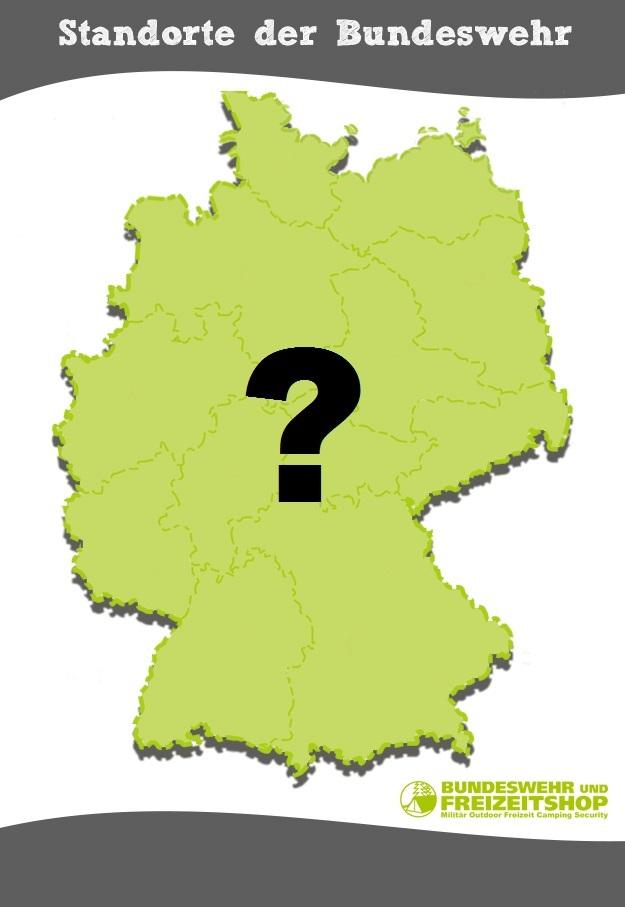 Bundeswehr-Standorte in Deutschland