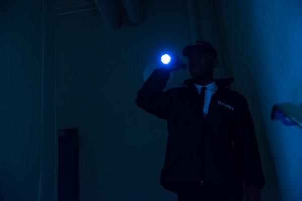 Security-Ausrüstung: Taschenlampe