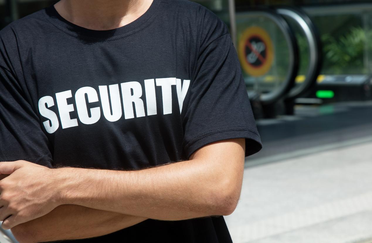 Ausrüstung für Security-Angestellte