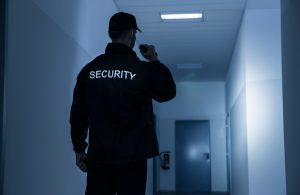 Security-Personal im Einsatz