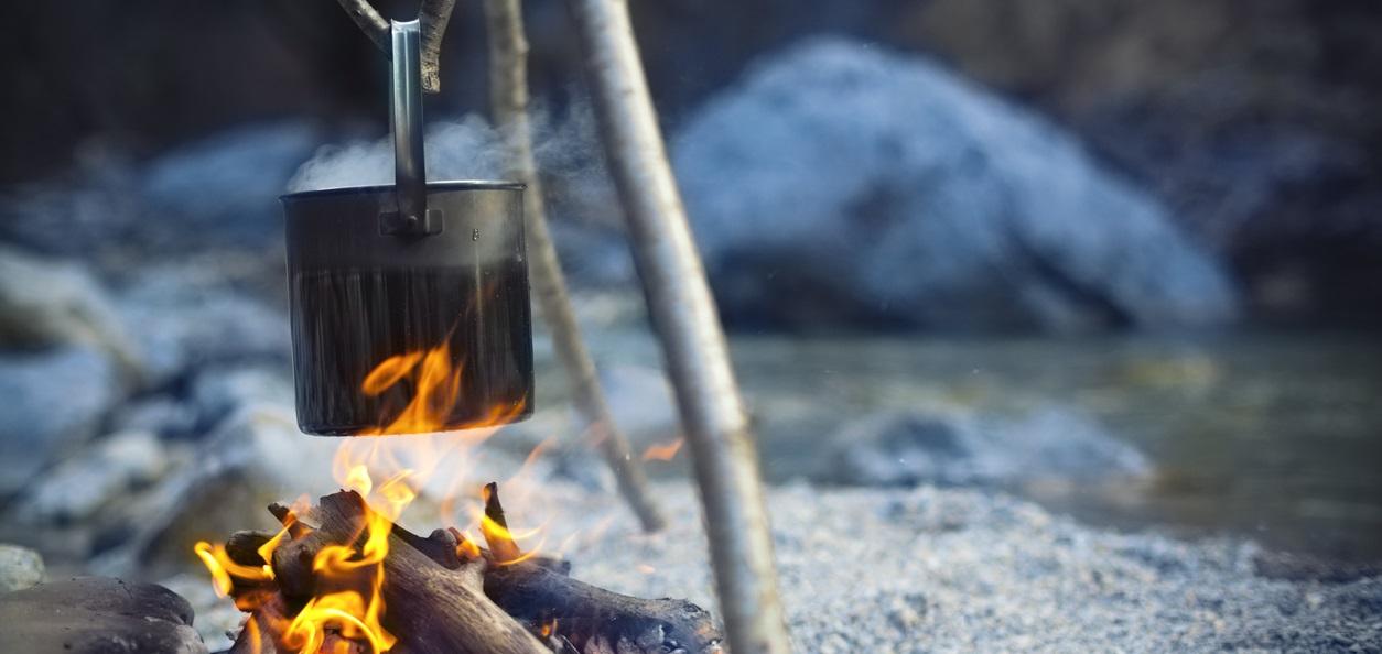 Camping Küche © gaspr13 / Getty Images International