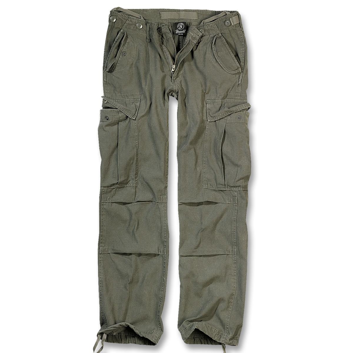 brandit m65 ladies vintage trouser cargo hose im. Black Bedroom Furniture Sets. Home Design Ideas