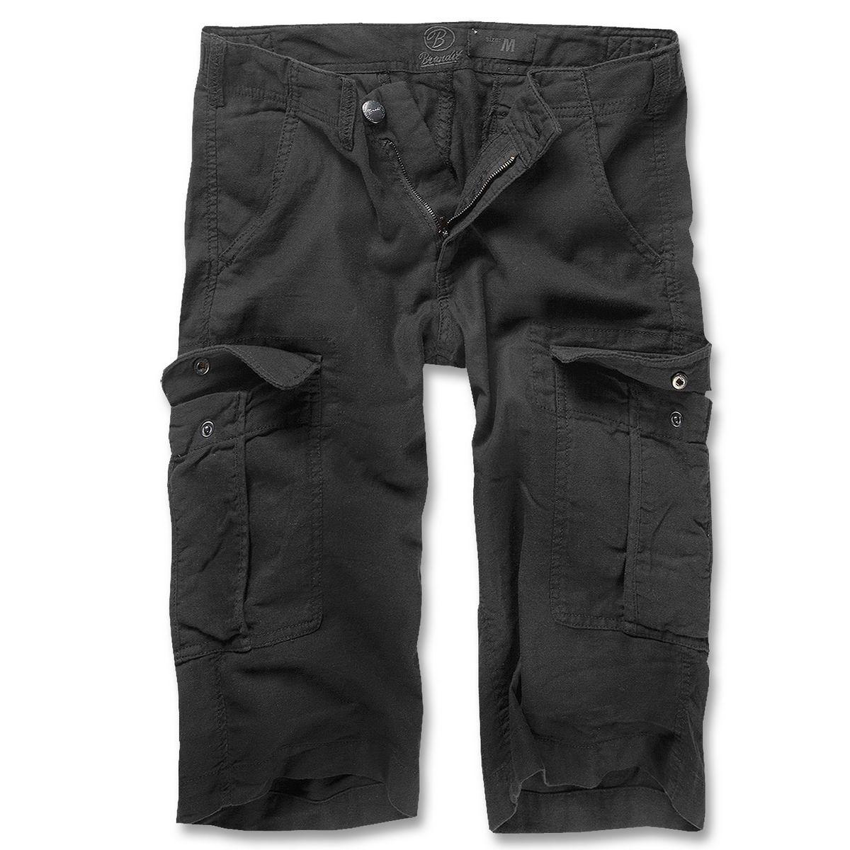 brandit havannah damen shorts hose schwarz im bundeswehr und freizeitshop. Black Bedroom Furniture Sets. Home Design Ideas