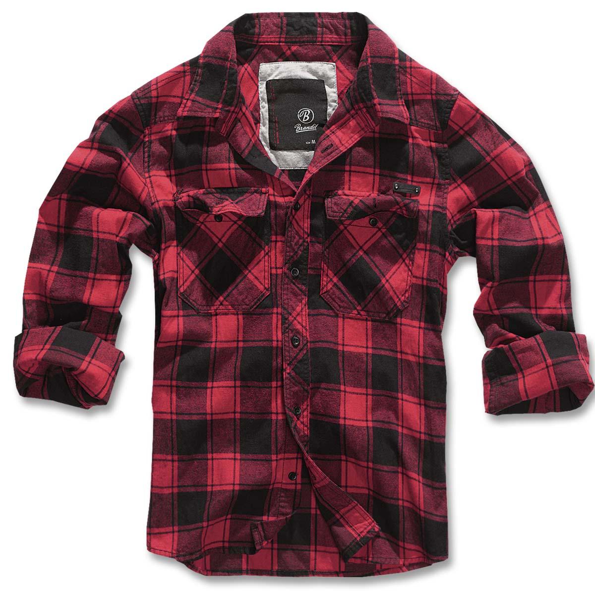 brandit check shirt flanell hemd im bundeswehr und freizeitshop. Black Bedroom Furniture Sets. Home Design Ideas