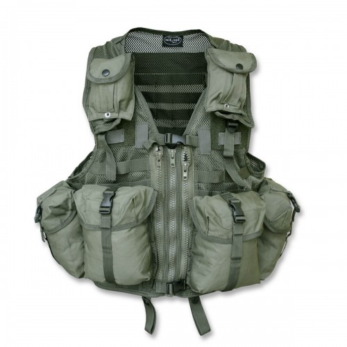 Tactical Weste Mod. System m. Taschen