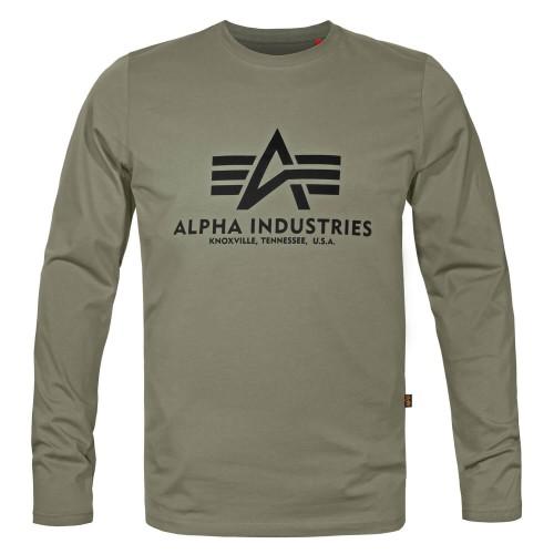 Alpha Industries Basic Alpha Langarm Shirt