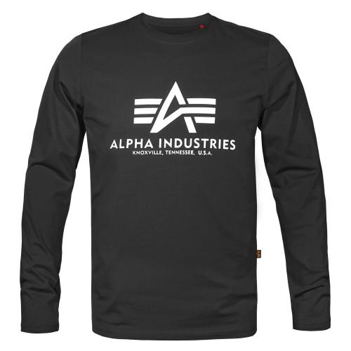 Alpha Industries Basic Alpha Langarm Shirt (Sale)