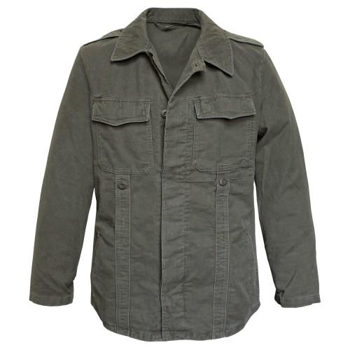 Vintage Moleskin Jacke nach TL - oliv