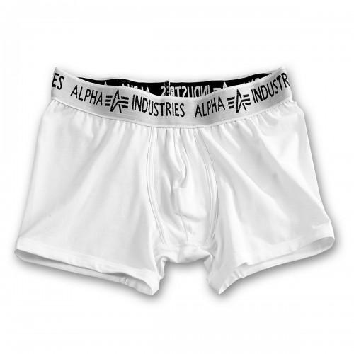 Boxershorts Alpha (Abverkauf) - weiss