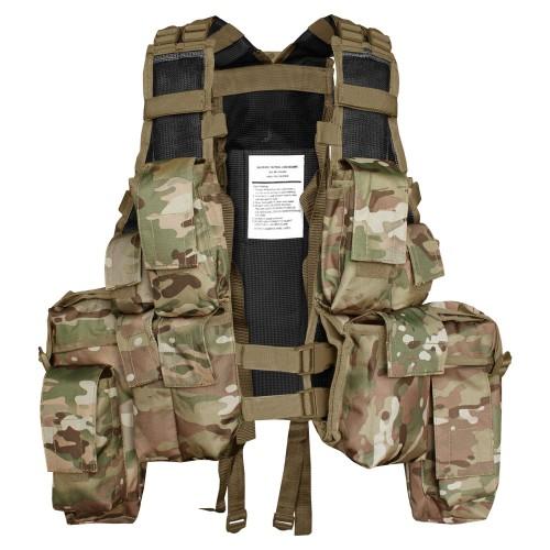 Mil-Tec Tactical Einsatzweste 12 Taschen