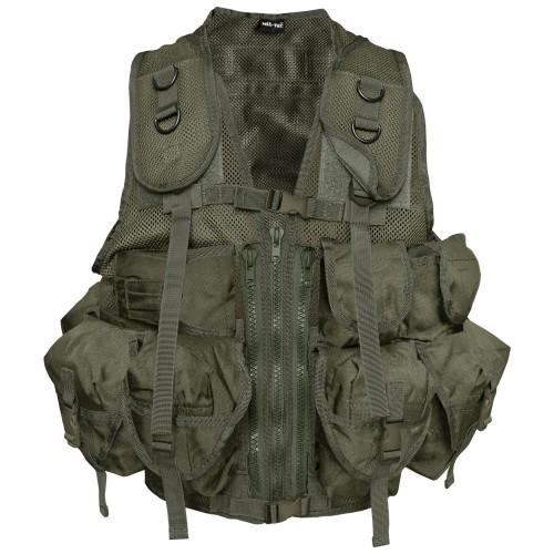 US Einsatzweste Tactical - oliv