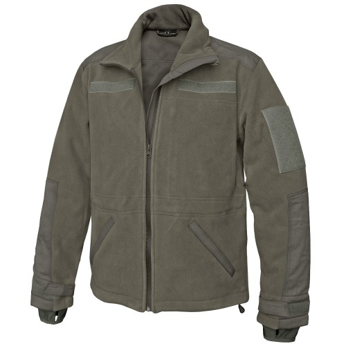 Tactical Windproof Fleece Jacke - oliv