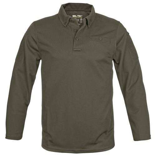 Mil-Tec Tactical Quick Dry Poloshirt langarm