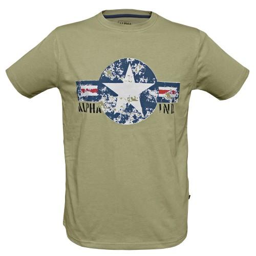 T-Shirt USAF (Abverkauf) - oliv