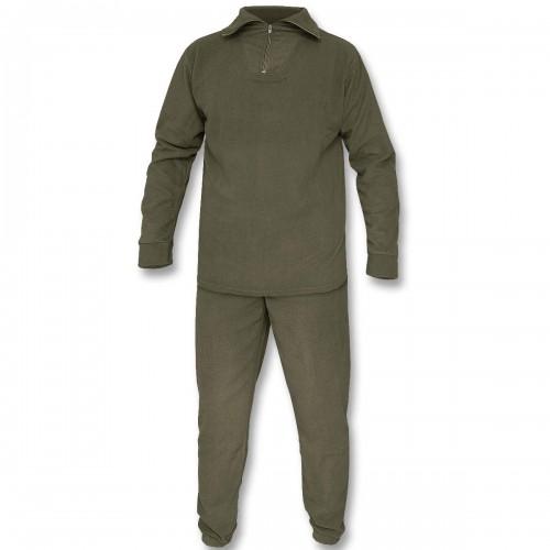 Mil-Tec Thermofleece Set m. Rollkragen Shirt