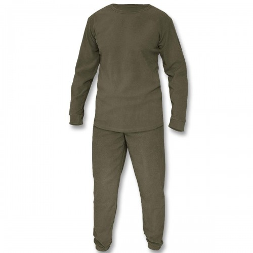 Mil-Tec Thermofleece Set m. Rundhals Shirt