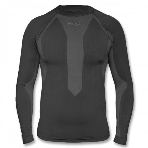Fox Thermo Sport Funktions Unterhemd langarm schwarz