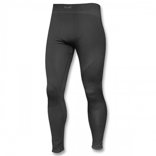 Fox Thermo Sport Funktions Unterhose lang schwarz