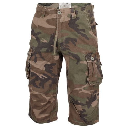 Mil-Tec Air Combat 3/4 Pants Prewash