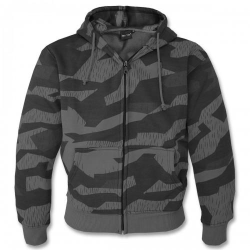Mil-Tec Kapuzen Pullover Zip