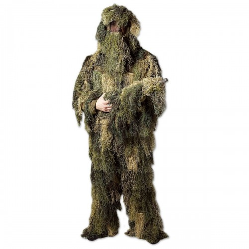 Ghillie Suit Anti Fire - woodland