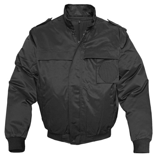 Mil-Tec Security Blouson Zip-Off schwarz