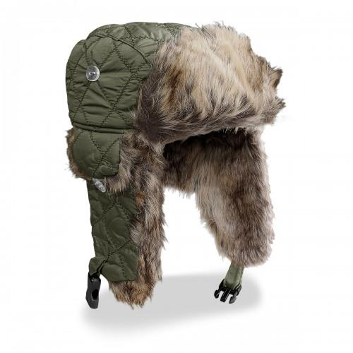 Mil-Tec Wintermütze mit Kunstpelz