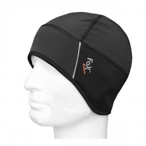 Softshell Mütze schwarz - schwarz