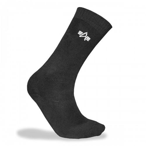 Sportsocken 3er-Pack - schwarz