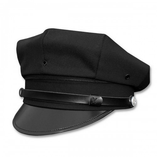 Mil-Tec US Police Schirmmütze schwarz