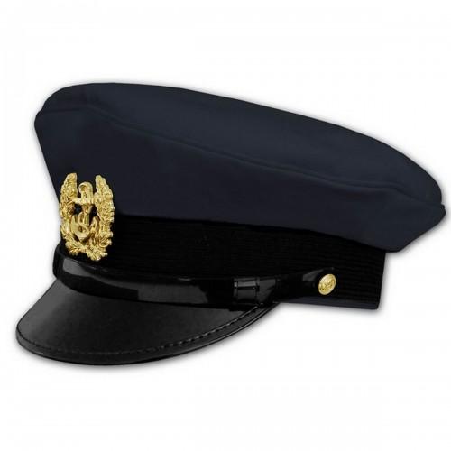 Mil-Tec Marine Schirmmütze m. Abzeichen