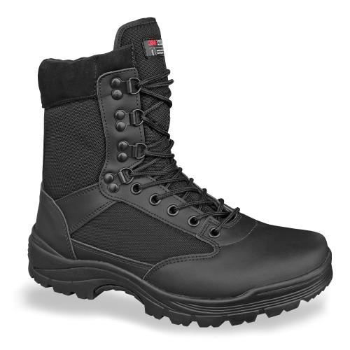 Tactical Boot m. YKK Zipper