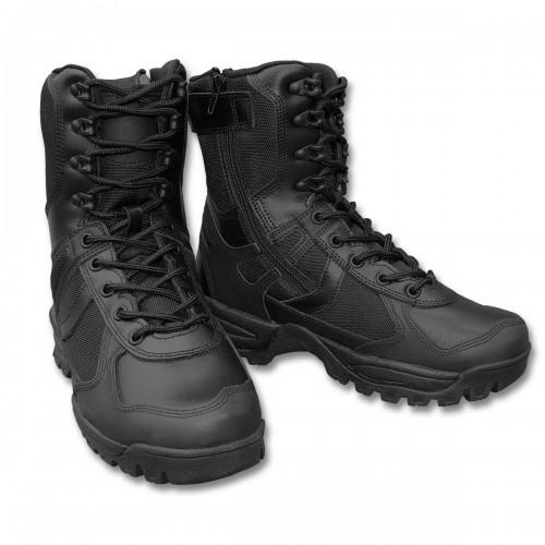 Stiefel Patrol m. YKK Zipper - schwarz