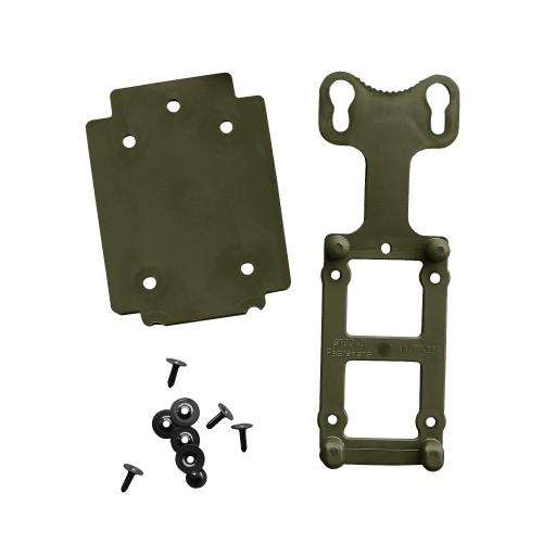 BW Adapterplatte m. Gegenplatte und Nieten