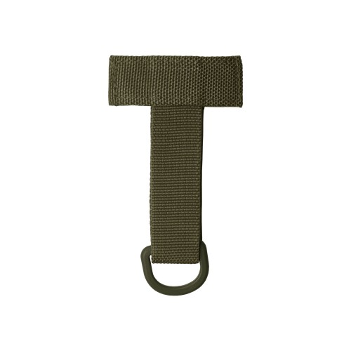 Molle Adapter mit D-Ring - oliv