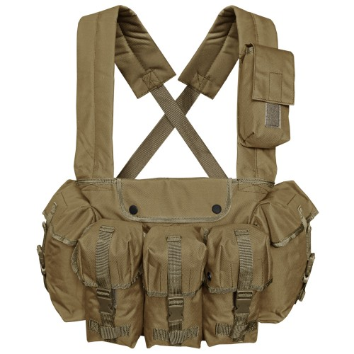 Mil-Tec Chest Rigg Einsatzweste 6-Pocket