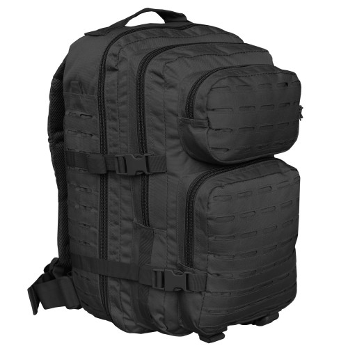 US Assault Pack Laser Cut Large - schwarz