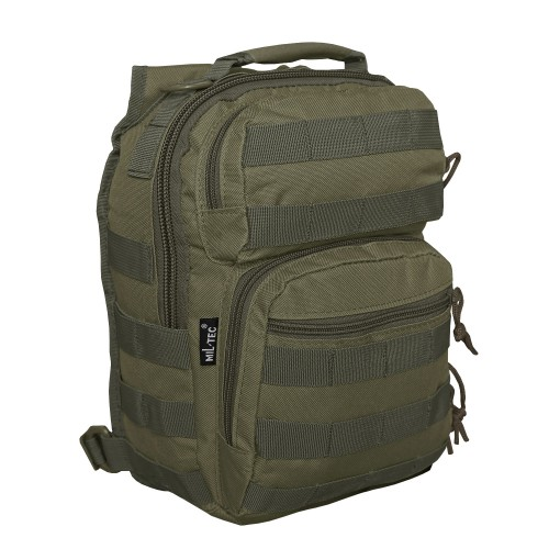 One Strap Assault Pack Small - oliv