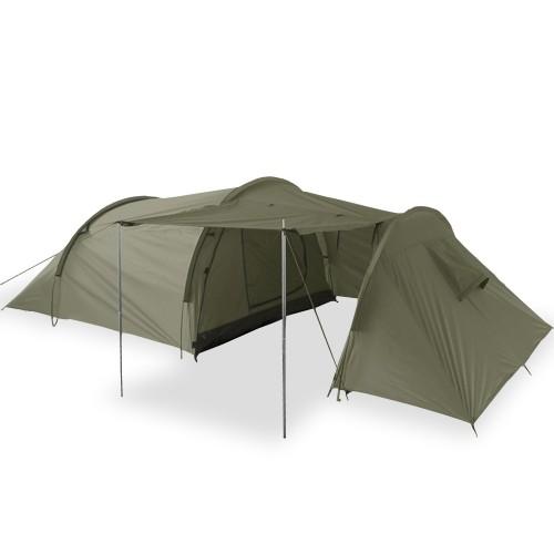 Mil-Tec 3-Mann-Zelt mit Stauraum