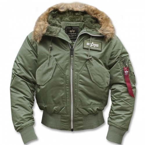 Alpha Industries CWU Hooded Fliegerjacke