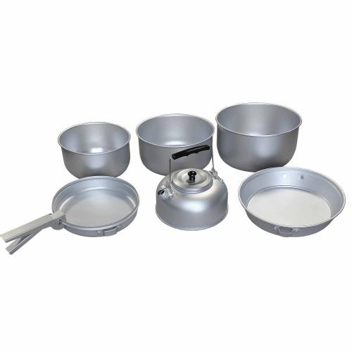 Mil-Tec Aluminium Kochset MT-Plus