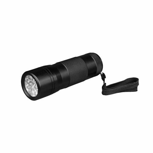 Mil-Tec Stablampe 12 LED schwarz