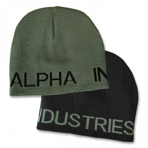 Alpha Industries Strickmütze Reversible