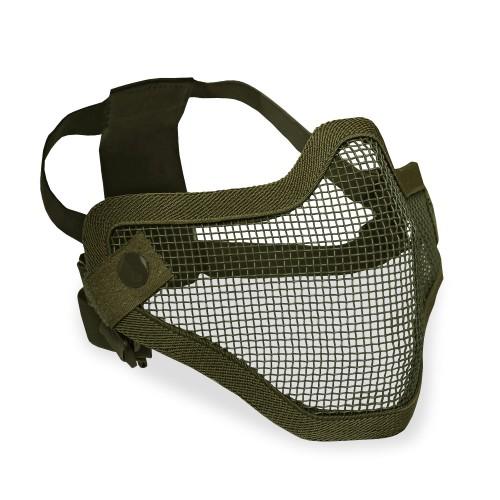 Airsoft Gitterschutzmaske Small - oliv